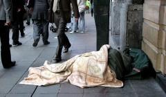 Homeless in Brussel